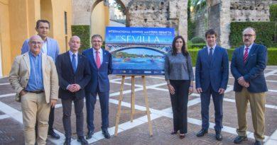 Primera jornada de la Sevilla International Rowing Masters Regatta