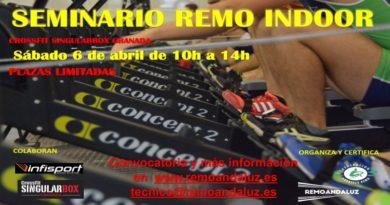 Seminario de remo indoor en Granada